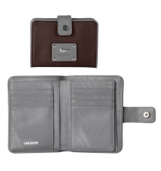 Cartera Lacoste SMALL WALLET BROWN